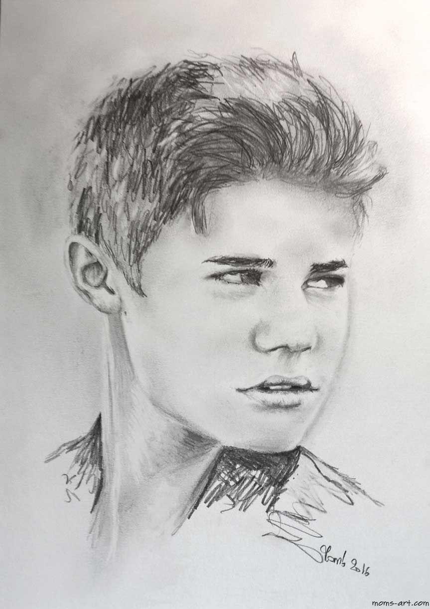 Comment dessiner des portraits au crayon dessin au - Portrait dessin facile ...